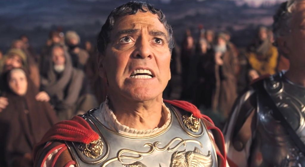 جورج کلوونی در درود بر سزار